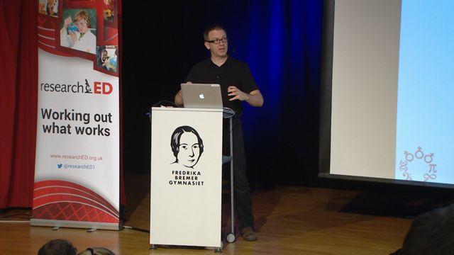 UR Samtiden - ResearchED 2019 : Barak Rosenshines undervisningsprinciper