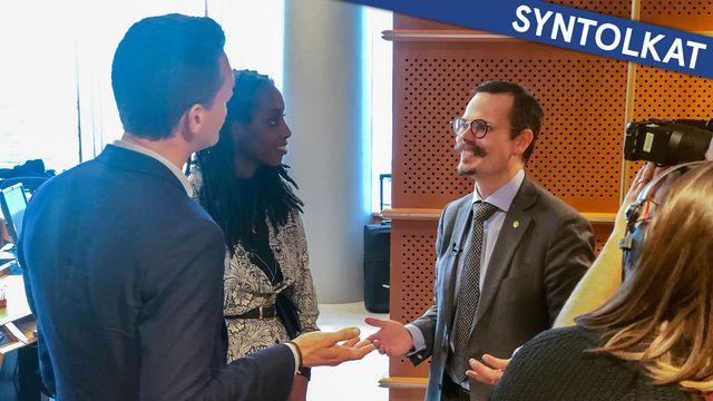 Fatta EU - syntolkat : Beslutsprocessen