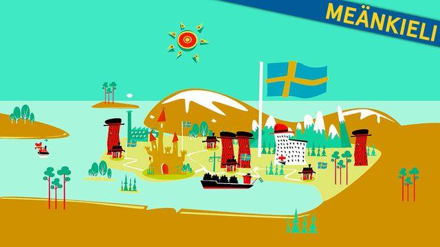 Så funkar Sverige - meänkieli : Grundlagarna
