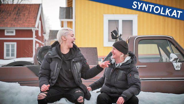 Tack gud jag är homo - syntolkat : Gay i Sápmi