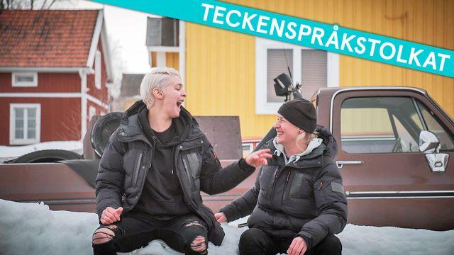 Tack gud jag är homo - teckenspråkstolkat : Gay i Sápmi