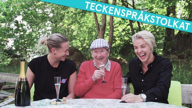 Tack gud jag är homo - teckenspråkstolkat : Seniorflatan