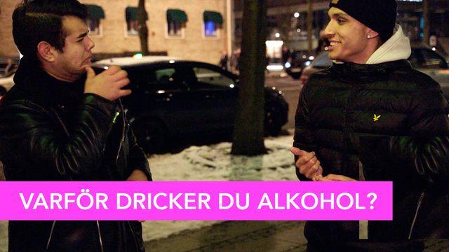 Amir frågar : Dricker du alkohol?
