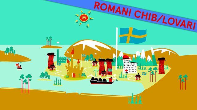 Så funkar Sverige - romani chib/lovari : Sverige och världen
