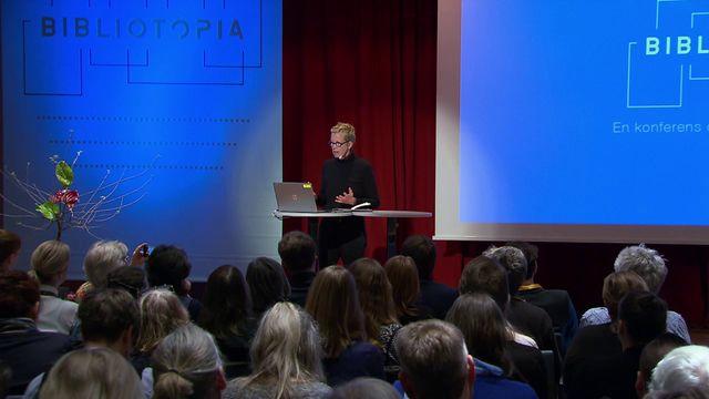 UR Samtiden - Bibliotopia : Bibliotekens möjligheter och roll i samhället