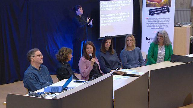UR Samtiden - Hörselnedsättning, dövhet och kognition : Panelsamtal om hörselnedsättning, dövhet och kognition