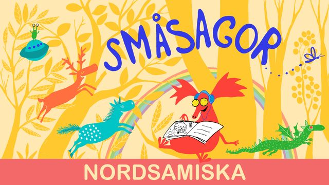 Småsagor - nordsamiska : Är det morgon nu?