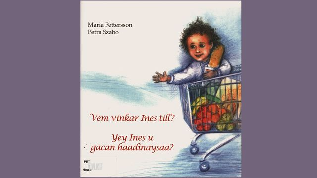 Småsagor - finska : Vem vinkar Ines till?