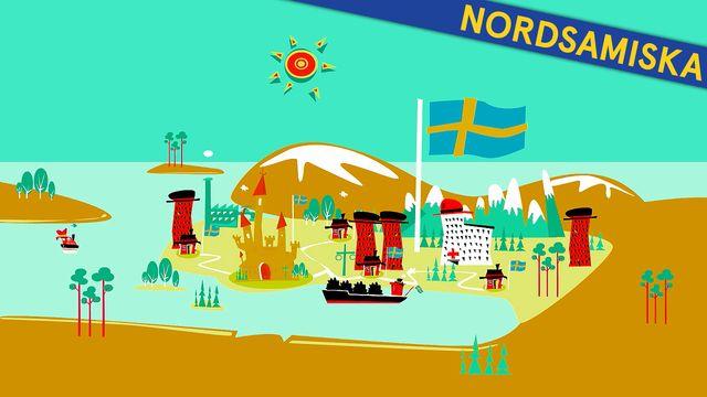 Så funkar Sverige - nordsamiska : Grundlagarna