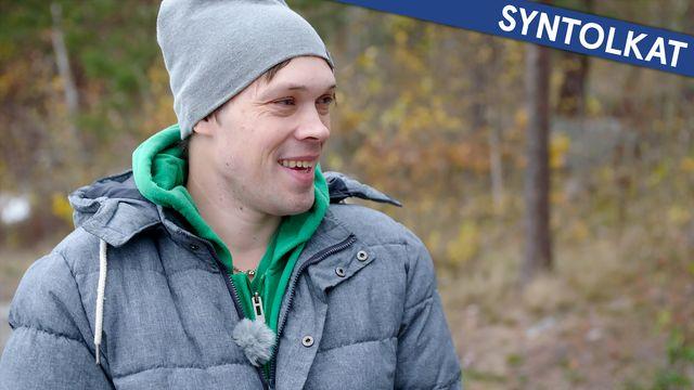 Diagnosresan - syntolkat : Lars