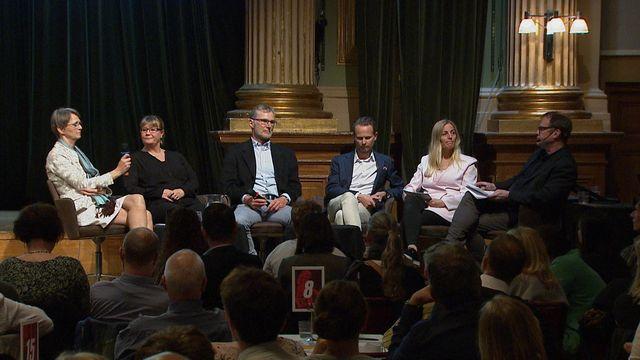 UR Samtiden - Fördjupad samverkan mot överskuldsättning : Panelsamtal - Nationell samverkan mot överskuldsättning
