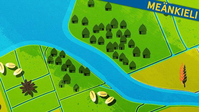 Fatta historia - kortversion - meänkieli : Flodkulturer