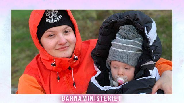 Barnaministeriet : Både barn och mamma