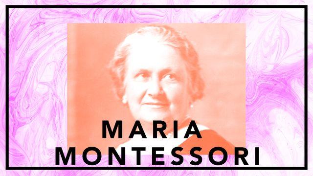 Bildningsbyrån - tänka mot strömmen : Maria Montessori - fred genom barnens befrielse