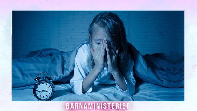 Barnaministeriet : Generation sömnlös