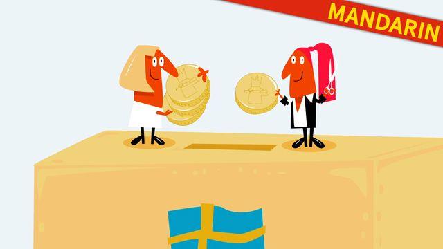 Nyfiken på Sverige - kinesiska/mandarin : Skatten