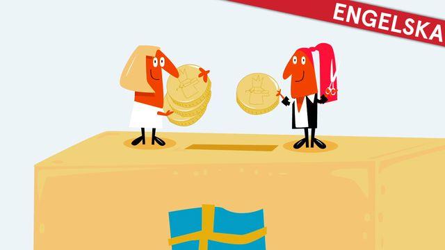 Nyfiken på Sverige - engelska : Skatten