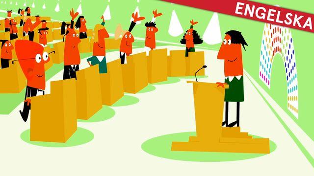 Nyfiken på Sverige - engelska : Den svenska demokratin