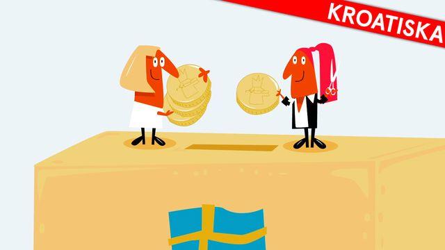 Nyfiken på Sverige - kroatiska : Skatten