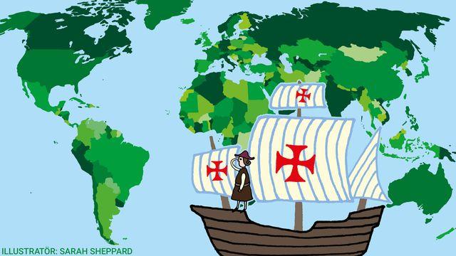 Kul fakta - resor jorden runt : Sjöfararna