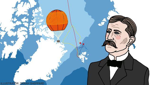 Kul fakta - resor jorden runt : Ett flygande misslyckande till Nordpolen