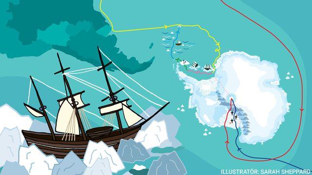 Kul fakta - resor jorden runt : Sydpolen - på drift