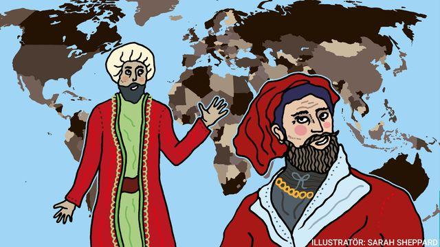 Kul fakta - resor jorden runt : Tidiga upptäckare - över land