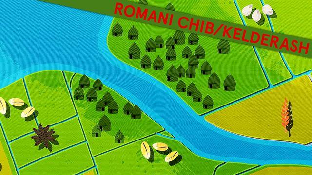 Fatta historia - kortversion - romani chib/kelderash : Flodkulturer