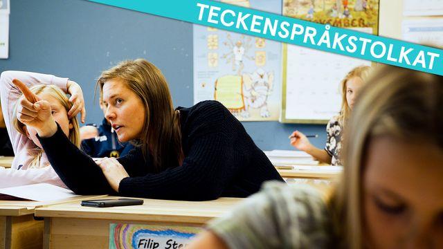 Jakten på dyslexin - teckenspråkstolkat : Från skolan till jobbet
