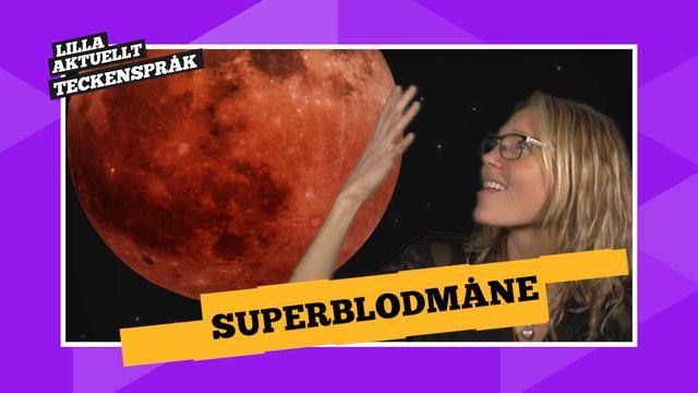 Vi förklarar! : Superblodmåne