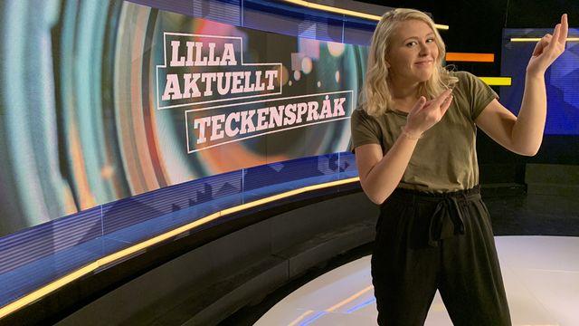 Lilla Aktuellt teckenspråk : 2019-10-25