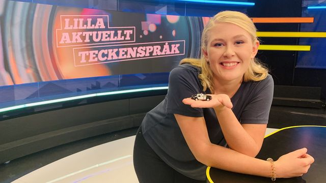 Lilla Aktuellt teckenspråk : 2019-08-23