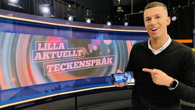 Lilla Aktuellt teckenspråk : 2019-08-30