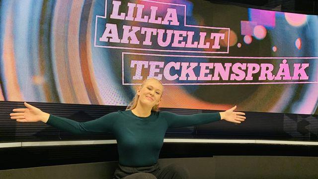 Lilla Aktuellt teckenspråk : 2019-09-13