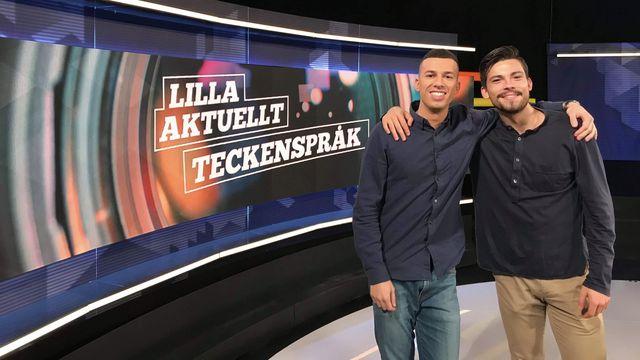 Lilla Aktuellt teckenspråk : 2019-10-18