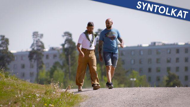 PK-mannen - syntolkat : Där jag bor finns ingen arbetarklass