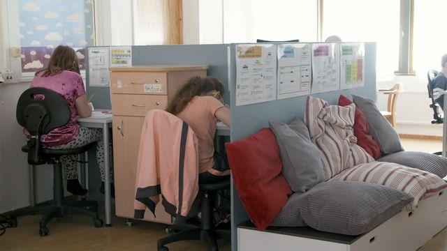 Lärlabbet : Fysisk lärmiljö i klassrummet