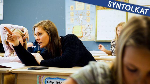 Jakten på dyslexin - syntolkat : Från skolan till jobbet