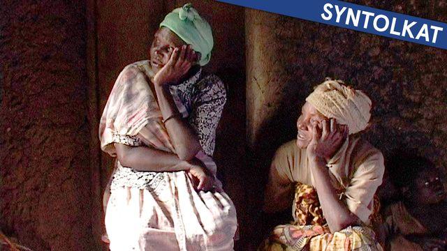 Folkmordet i Rwanda - syntolkat : Fred och försoning