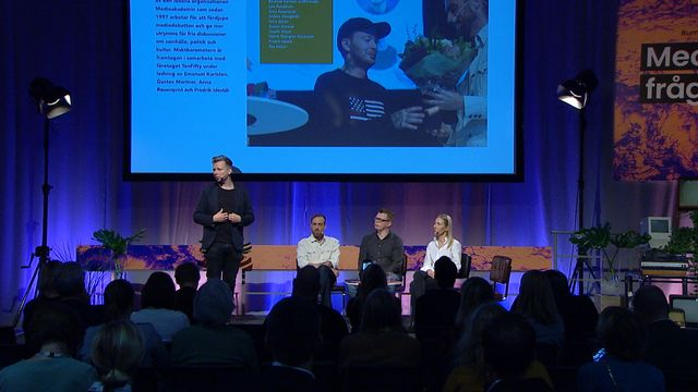 UR Samtiden - Bokmässan 2019 : Medieakademien presenterar Maktbarometern