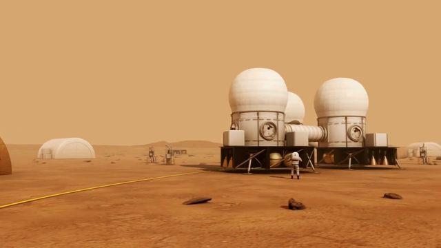 Briljanta forskare - syntolkat : Marsresan