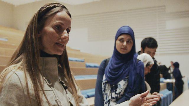 Den kvinnliga imamen : Debatt på Syddansk Universitet