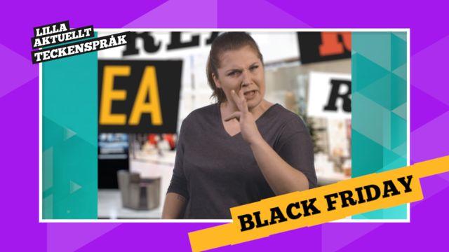 Vi förklarar! : Black Friday och En köpfri dag