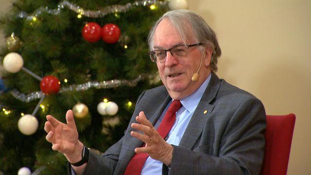 UR Samtiden - Nobel för gymnasister 2019 : Stanley Whittingham - Nobelpristagare i kemi