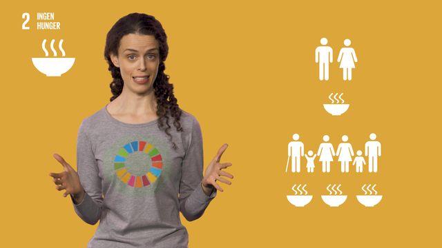 Globala mål i sikte : Mål 2: Ingen hunger