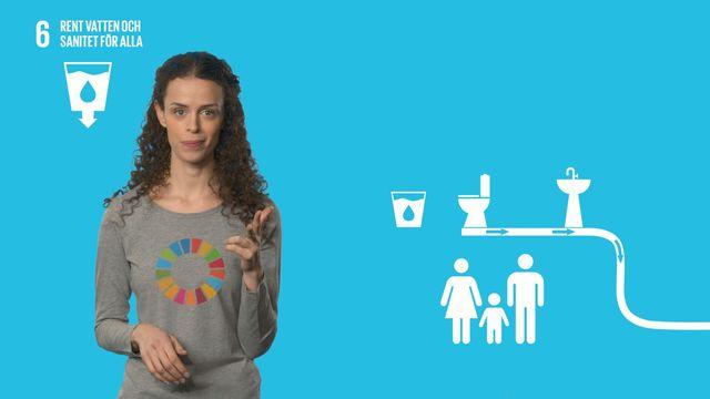 Globala mål i sikte : Mål 6: Rent vatten och sanitet för alla