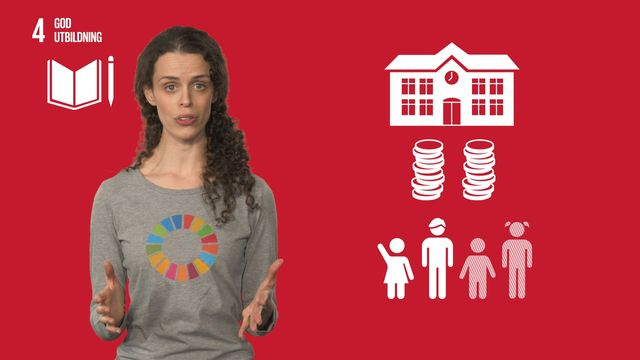 Globala mål i sikte : Mål 4: God utbildning för alla