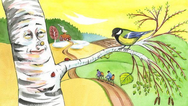 Tripp, Trapp, Träd : Vårtecken