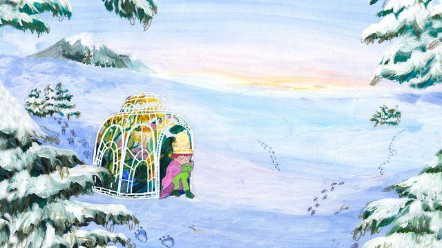 Tripp, Trapp, Träd : Vinterspår