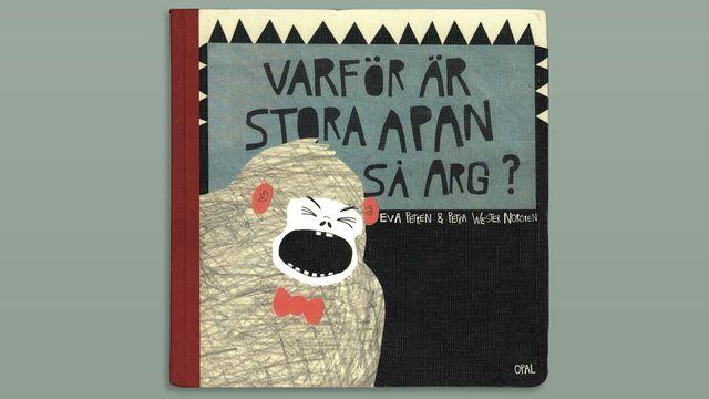 Småsagor - arabiska : Varför är Stora Apan så arg?